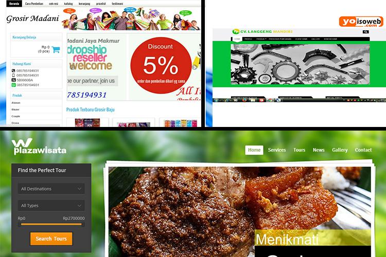 Jasa Pembuatan Website Calang | 08 222 5316 999