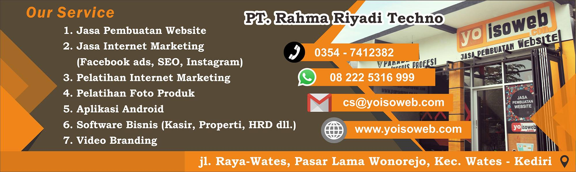 Jasa website sekolah Banjarnegara 08 222 5316 999