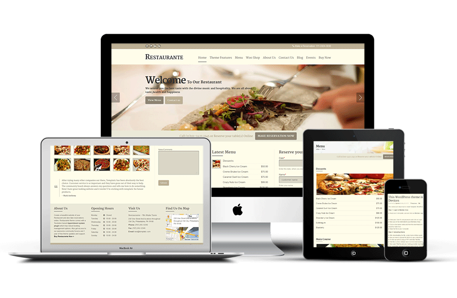 Jasa Website Restoran Samarinda 085695285999