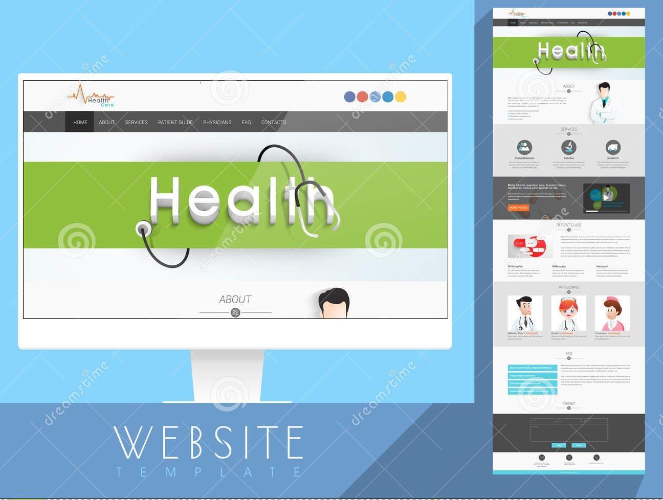 Jasa Website Rumah Sakit Pasuruan 082225316999