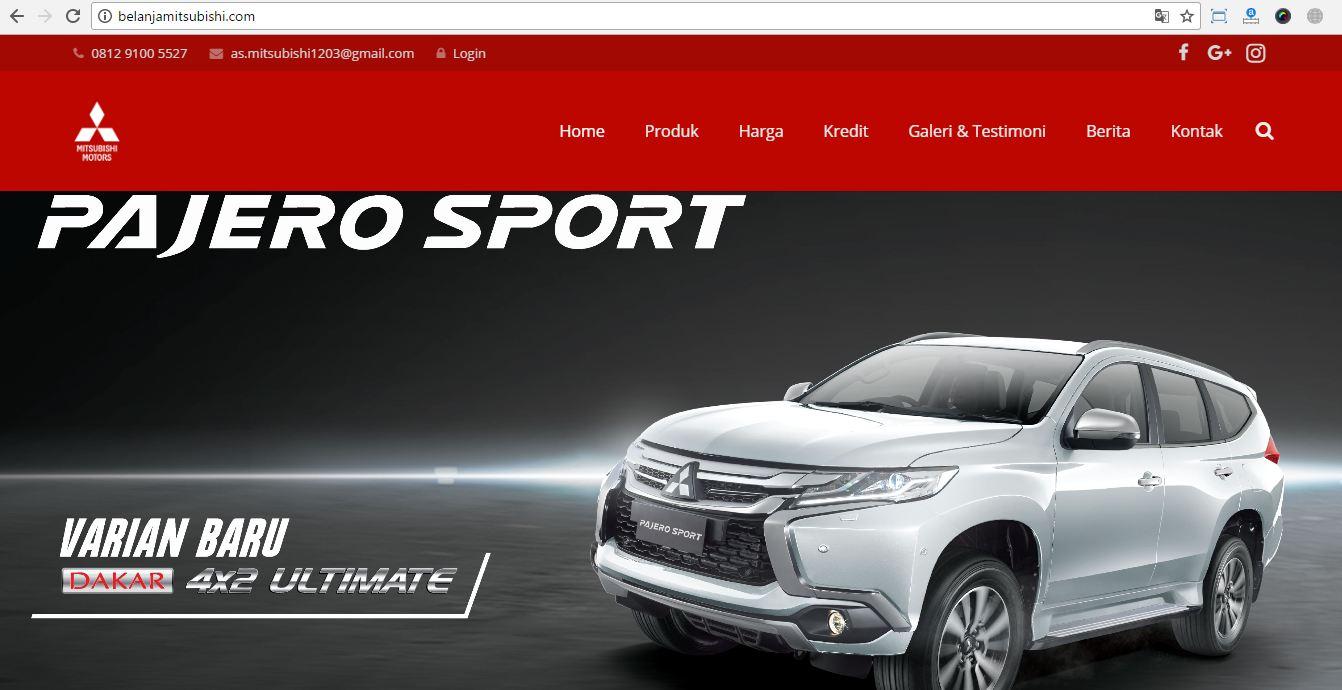 Jasa Website Sales Mobil Karawang 085695285999