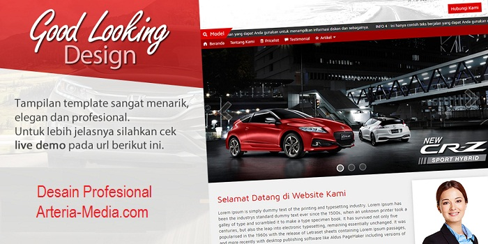 Jasa Website Sales Mobil Pangandaran 085695285999