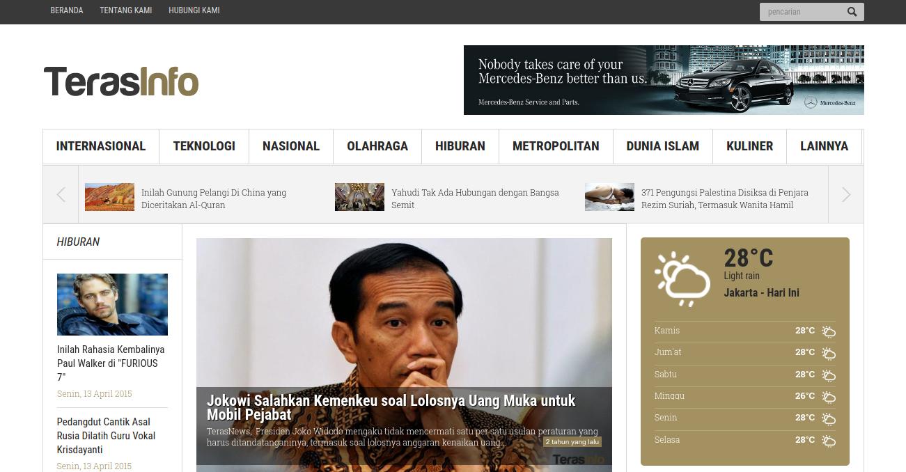Jasa Web Berita Gunungkidul 085695285999