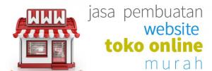 Jasa Pembuatan Website Toko Online Murah Bandung