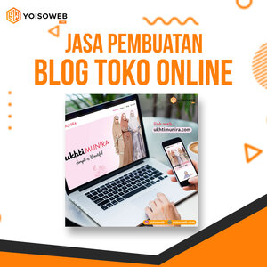Jasa Pembuatan Blog Toko Online