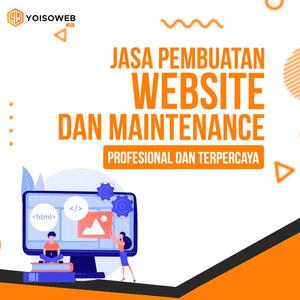 Jasa Pembuatan Website dan Maintenance