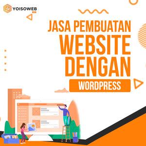 Jasa Pembuatan Website dengan Wordpress Terpercaya dan Ekonomis