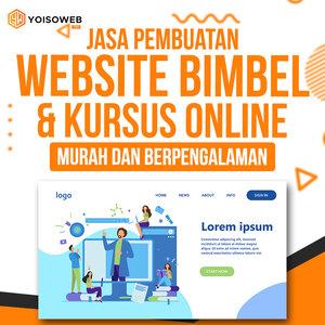 Jasa Pembuatan Website Bimbel dan Kursus Online Murah dan Berpengalaman