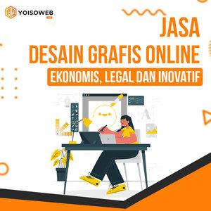 Jasa Desain Grafis Online Ekonomis, Legal dan Inovatif