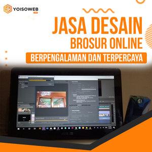 Jasa Desain Brosur Online  Berpengalaman dan Terpercaya