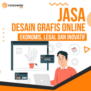 Jasa Desain Grafis Online  Ekonomis, Legal, dan Inovatif