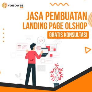 Jasa Pembuatan Landing Page Olshop, Gratis Konsultasi